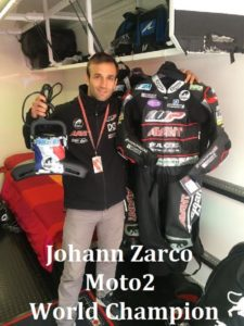 Johann Zarco Moto2 World Champion